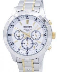 Seiko Chronograph Quarz SKS607 SKS607P1 SKS607P Herrenuhr