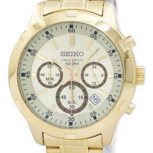 Seiko Chronograph Quarz SKS610 SKS610P1 SKS610P Herrenuhr