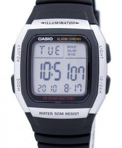 Casio-Jugend Digital Alarm Chrono Illuminator W-96H-1AVDF W-96H-1AV Herrenuhr