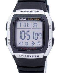 Casio-Jugend Digital Alarm Chrono Illuminator W-96H-1AVDF W-96H-1AV Herrenuhr