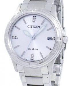 Citizen Eco-Drive Diamant Akzent FE6050-55A Damenuhr
