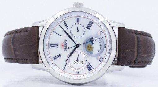 """Klassische Orient Quarz """"Sonne & Mond"""" Japan hat RA-KA0005A00C Damenuhr"""