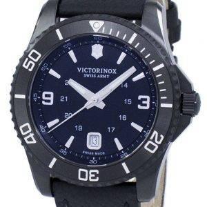Victorinox Maverick große schwarze Edition Schweizer Armee 241787 Quarz Herrenuhr