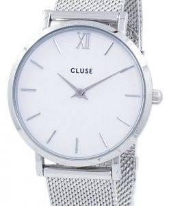 Cluses Minuit Quarz CL30009 Damenuhr