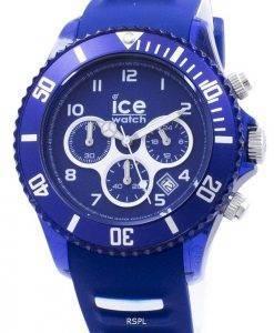 ICE-Aqua Marine große Chronograph Quarz 012734 Herrenuhr