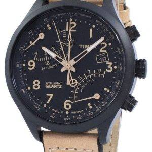 Timex intelligente Indiglo Fly-Back Chronograph Quarz T2N700 Herrenuhr