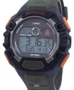 Timex Expedition Schock Welt Zeit Indiglo Digital T49972 Herrenuhr