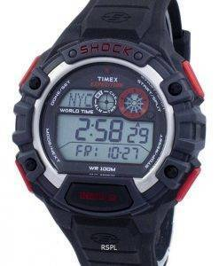 Timex Expedition globalen Schock Welt Zeit Alarm Indiglo Digital T49973 Herrenuhr