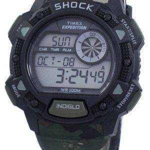 Timex Expedition Base Schlag Alarm Indiglo Digital T49976 Herrenuhr