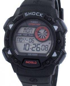 Timex Expedition Antichoc De Base Schock Indiglo Digital T49977 Herrenuhr