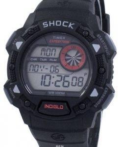 Timex Expedition Antichoc De Base Schock Indiglo Digital T49977 Herrenuhr