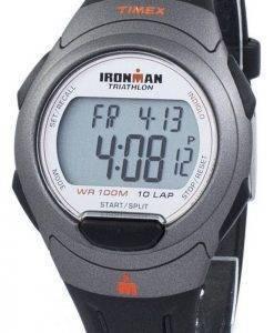 Timex Sportuhr Ironman Triathlon 10 Runde Indiglo Digital T5K607 Herren