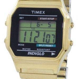 Timex Classic Indiglo Chronograph Alarm digitaler T78677 Herrenuhr