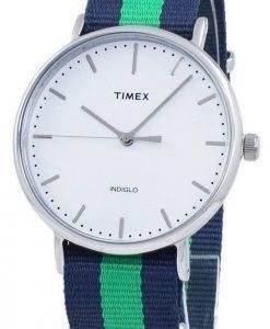 Timex Weekender Fairfield Indiglo TW2P90800 Unisex Quarzuhr