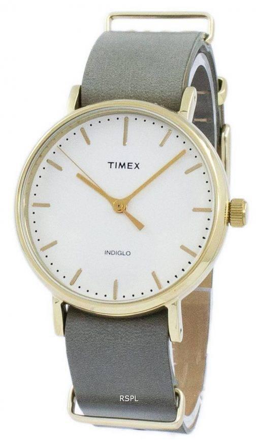 Timex Weekender Fairfield Indiglo TW2P98500 Unisex Quarzuhr