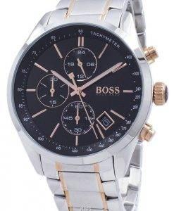 Hugo Boss Grand Prix Chronograph Tachymeter 1513473 Quarz Herrenuhr