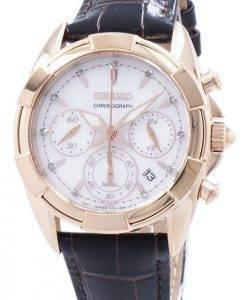 Seiko Chronograph Quarz Diamant Akzent SRW784 SRW784P1 SRW784P Damenuhr