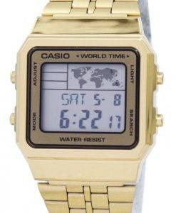 Casio Wecker Welt Zeit digitale A500WGA-9DF Herrenuhr