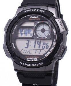 Casio-Jugend-Serie digitale Welt Zeit AE-1000W-1BVDF AE-1000W-1BV Herrenuhr