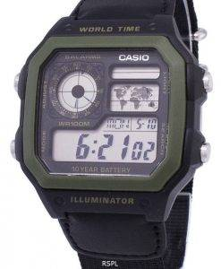 Casio-Jugend-Serie digitale Welt Zeit AE-1200WHB-1BVDF AE-1200WHB-1BV Herrenuhr