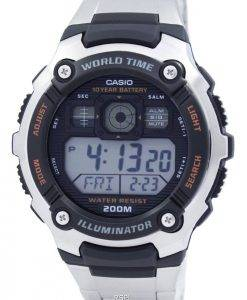 Casio Digital World Time AE-2000WD-1AVDF AE-2000WD-1AV Sport Herrenuhr