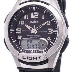 Casio Analog-Digital Illuminator Telememo AQ-180W-1BVDF AQ-180W-1BV Herrenuhr
