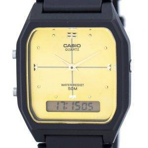 Casio Analog Digital Quarz Dualzeit AW-48HE-9AVDF AW-48HE-9AV Herrenuhr