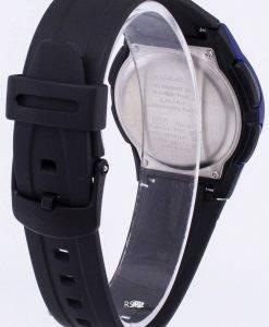 Casio Analog-Digital Illuminator Telememo schwarz/blau AW-80-2BVDF AW-80-2BV Herrenuhr