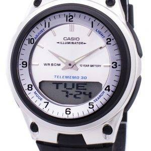 Casio Analog-Digital Telememo Illuminator AW-80-7AVDF AW-80-7AV Herrenuhr