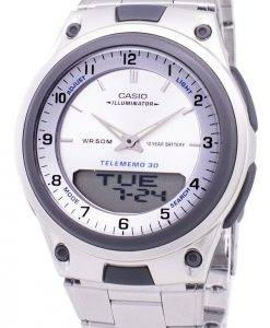 Casio Analog-Digital Telememo Illuminator AW-80D-7AVDF AW-80D-7AV Herrenuhr