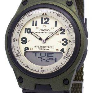 Casio Analog-Digital Telememo Illuminator AW-80V-3BVDF AW-80V-3BV Herrenuhr