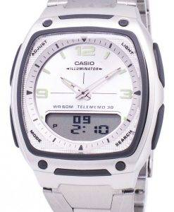 Casio Analog-Digital Telememo Illuminator AW-81-D-7AVDF AW-81D-7AV Herrenuhr
