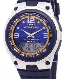 Casio Analog-Digital-Out-Gear Angeln Illuminator AW-82-2AVDF AW-82-2AV Herrenuhr