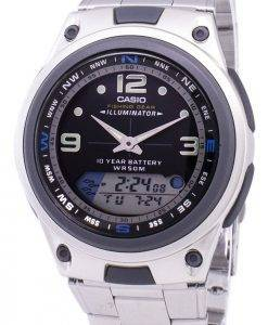 Casio Analog-Digital-Out-Gear Angeln Illuminator AW-82D-1AVDF AW-82D-1AV Herrenuhr
