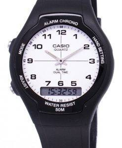 Casio Analog-Digital Dualzeit AW-90H-7BVDF AW-90H-7BV Herrenuhr
