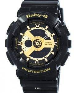 Casio Baby-G World Time Analog Digital BA-110-1A Damenuhr