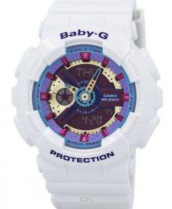 Casio Baby-G analoge digitale Multi-Color Dial BA-112-7A Damenuhr