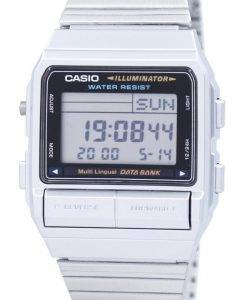 Casio Digital 5 Alarm mehrsprachige Daten Bank DB-380-1DF DB-380-1 Herrenuhr