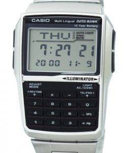 Casio Jugend Digital Data Bank 5 Alarm mehrsprachige DBC-32D-1ADF DBC-32D-1 Herrenuhr