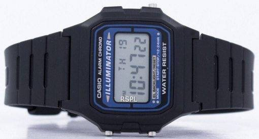 Casio Digital Quarz Alarm Chrono Illuminator F-105W-1ADF F-105W-1 Herrenuhr