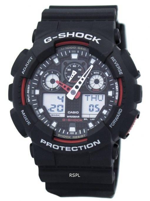 Casio G-Shock Velocity-Anzeige Alarm-GA-100-1A4 GA-100 zu sehen