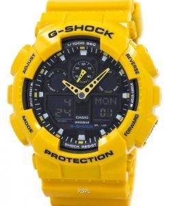 Casio G-Shock GA-100A-9ADR GA-100A-9A GA-100A-9 Velocity-Anzeige Alarm uhr