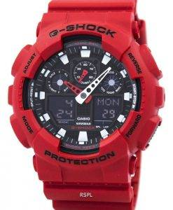 Casio G-Shock GA-100 b-4A Analog Digital Herrenuhr