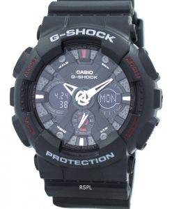 Casio G-Shock GA-120-1A schwarz Analog Digital Herrenuhr