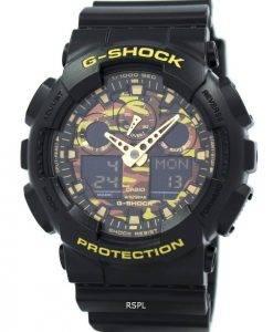 Casio G-Shock Camouflage Serie GA-100CF-1A9 Herrenuhr