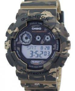 Casio G-Shock Digital Camouflage Serie GD-120CM-5 Herrenuhr