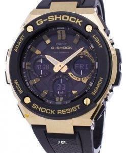Casio G-Shock G-Stahl analoge Welt Zeit GST-S100G-1A Herrenuhr