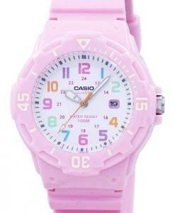 Casio Pink Harz Strap LRW-200H-4B2VDF LRW-200H-4B2V Damenuhr