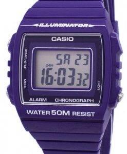 Casio-Jugend Digital Alarm Chronograph W-215H-6AVDF W-215H-6AV Unisex Uhr