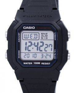 Casio Digital klassische Illuminator W-800H-1AVDF W-800H-1AV Herrenuhr